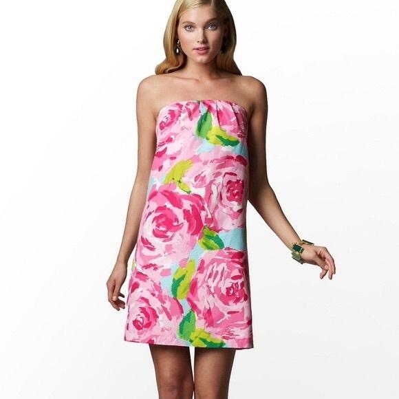 Lilly Pulitzer Hotty Pink First Impression Keetan Dress 2